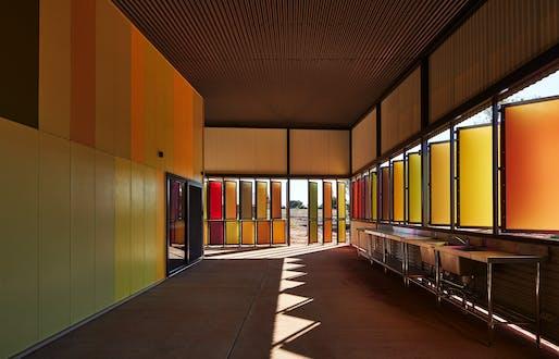 Best Use of Colour Winner 2017: Iredale Pedersen Hook Architects, Fitzroy Crossing Renal Hostel, Fitzroy Crossing, Australia