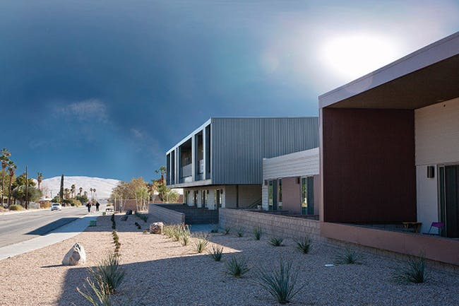 Rosa Parks affordable housing by Gwynne Pugh Urban Studio with Coachella Valley Housing Coalition