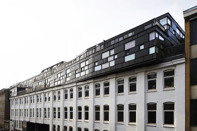 Businesspark Breitensee in Vienna, Austria by HOLODECK architects; Photo: Wolfgang Thaler