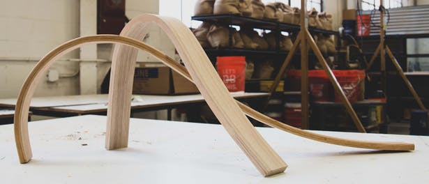 Bent frame pieces