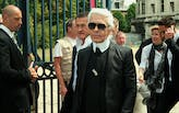 Throughout his legendary career, Karl Lagerfeld fused fashion and architecture