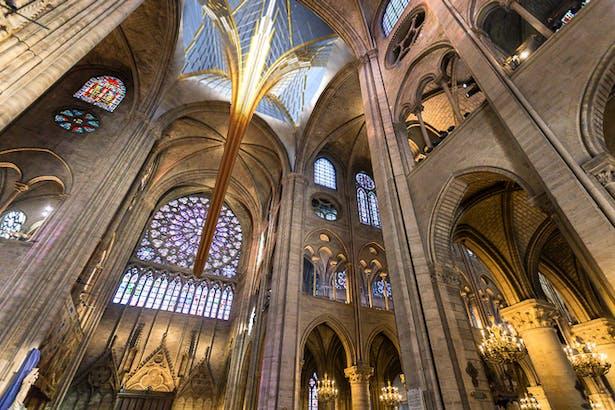 Notre Dame's Spine_OF STUDIO_Interior