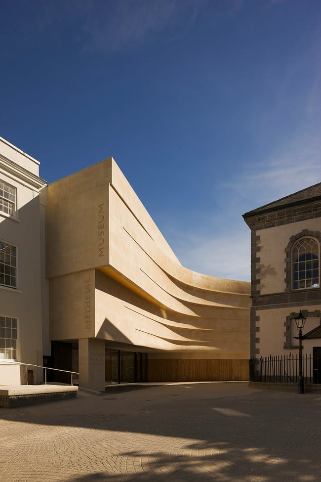 Waterford Medieval Museum in Waterford, Ireland by Waterford City Council and Waterford City Architects. Photo: Philip Lauterbach.