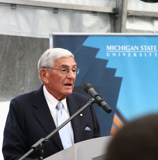 "Eli Broad has passed away at 87. Photo: arcticpenguin/<a href=""https://www.flickr.com/photos/arcticpenguin/8172663933"">Flickr</a>"