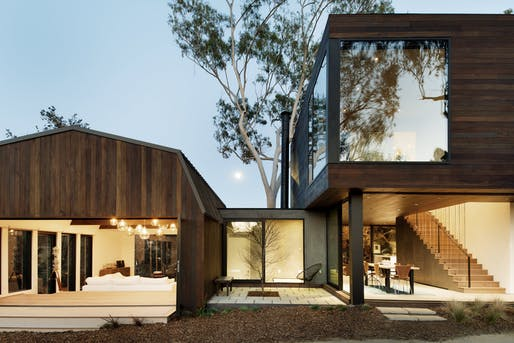 Oak Pass Guesthouse by Walker Workshop, located in Los Angeles, CA. Image: Walker Workshop.