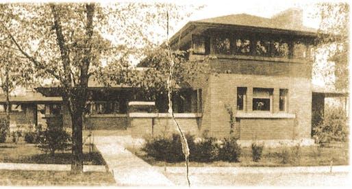 Barton House at Martin House complex in Buffalo, NY.