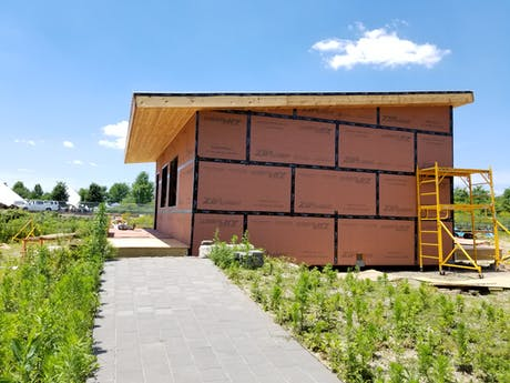 Design-Build Community Center on Governors Island 600 S.F