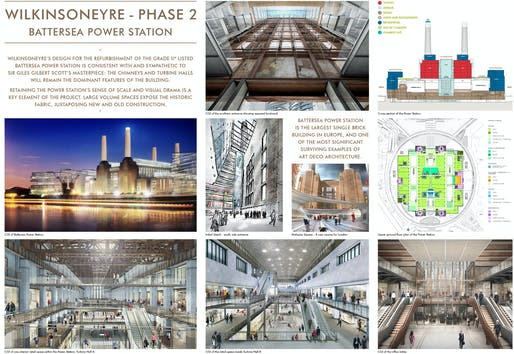 Commercial Mixed Use - Future Projects Winner supported by Miele: WilkinsonEyre, Battersea Power Station Phase 2, London, United Kingdom.