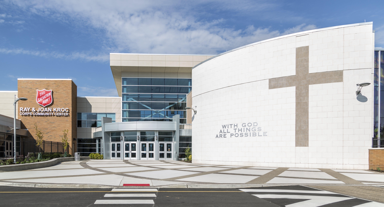 Salvation Army Ray & Joan Kroc Corps Community Center | Kitchen ...