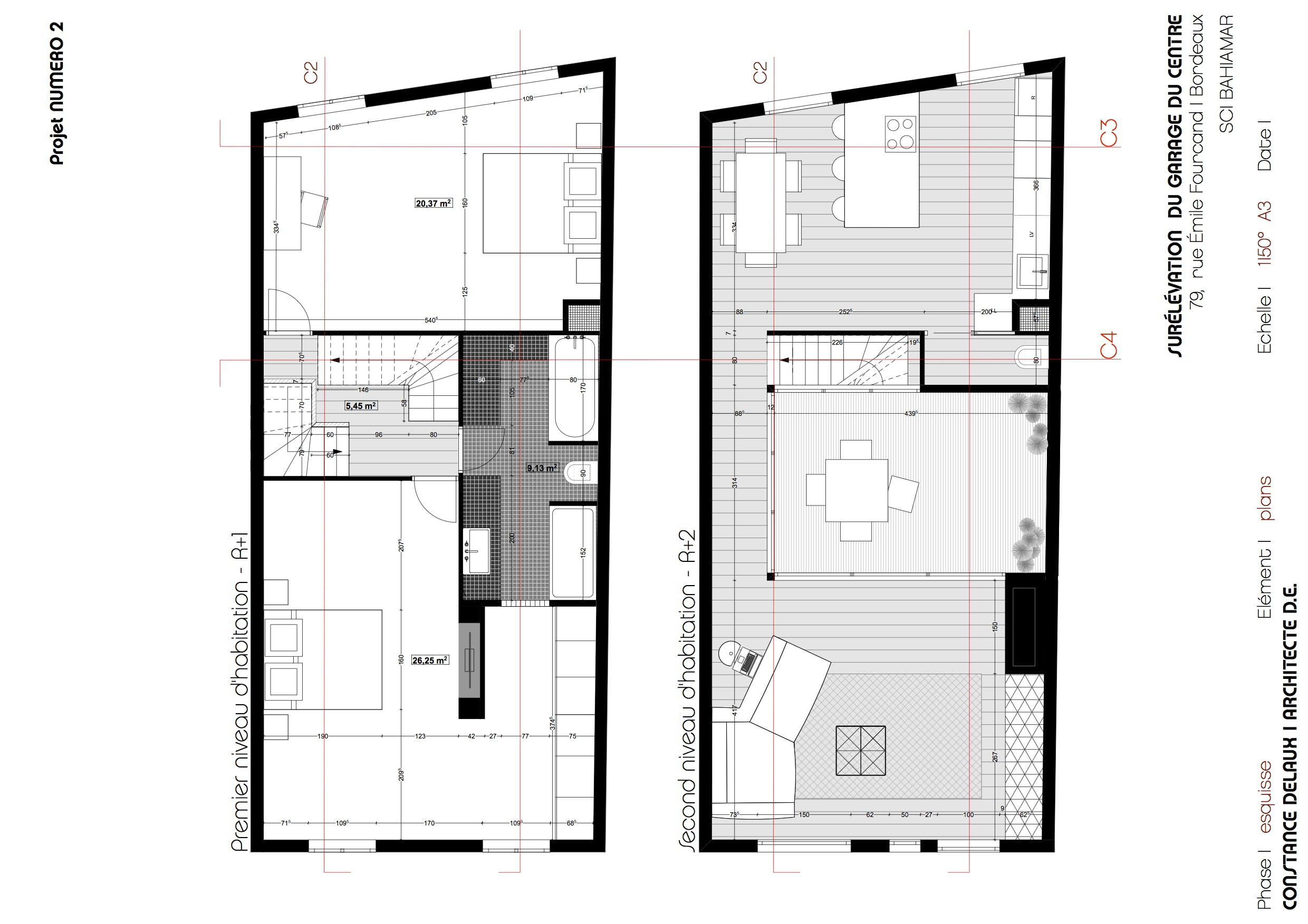 Elevation Of An Apartment Constance Delaux Archinect - What is my elevation at my location