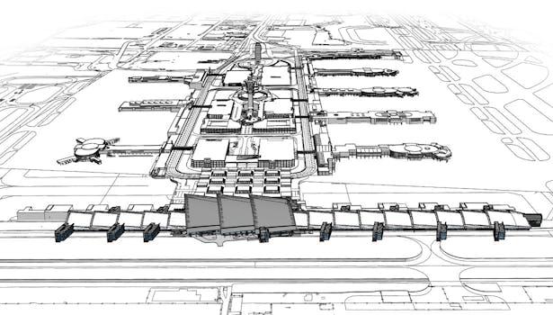 LAX Campus Revit Model