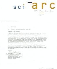 Recommendation letter 3a