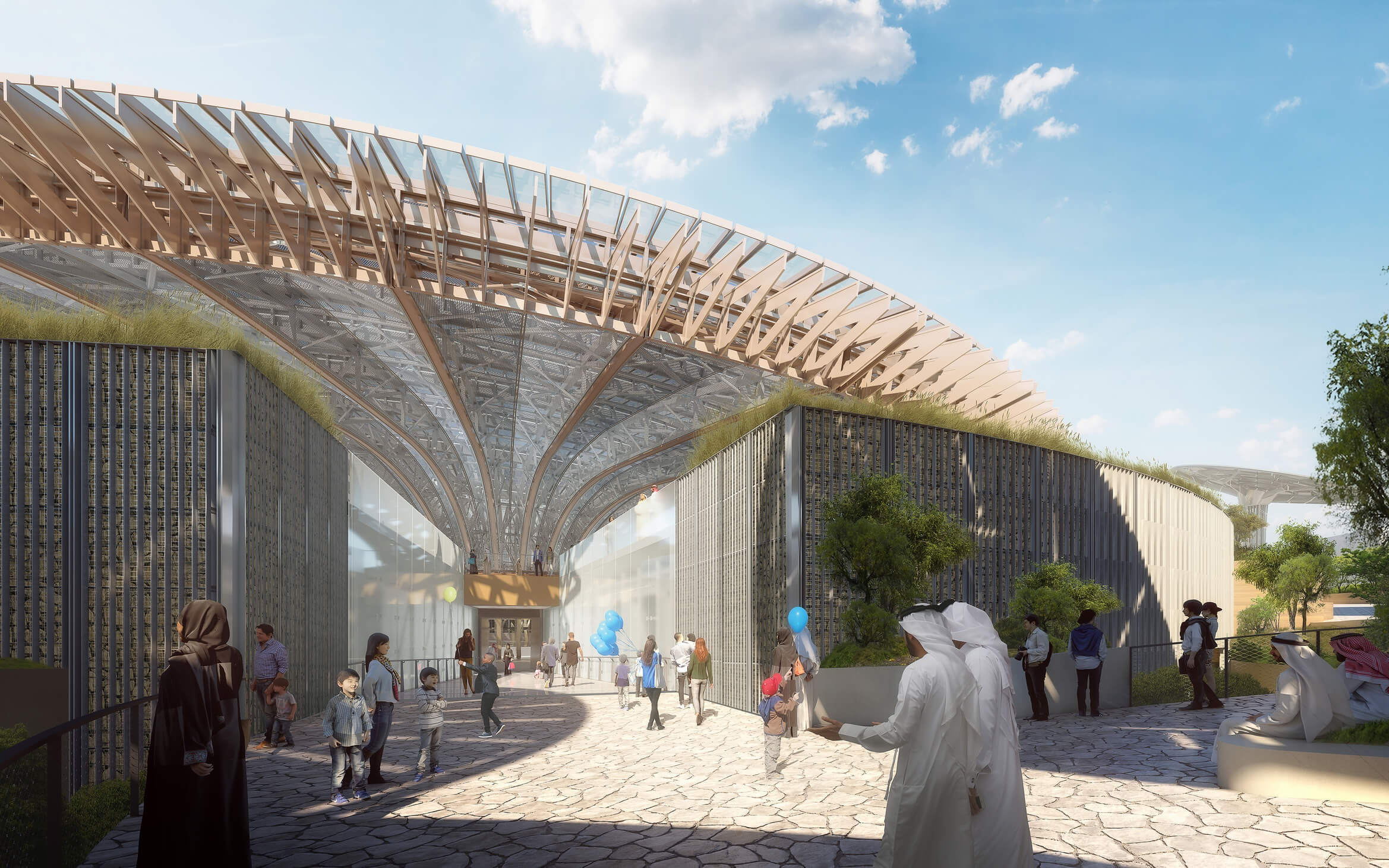 Dubai Expo 2020 Sustainability Pavilion by Grimshaw