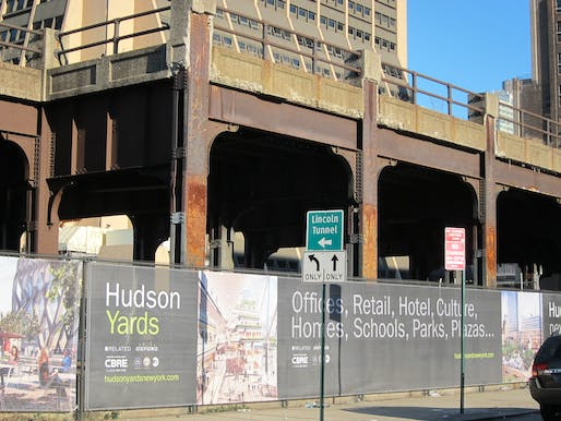 "Hudson Yards in New York City: ""Don't worry, you're gonna just love it!"" (Photo: Joe Shlabotnik; image via pps.org)"