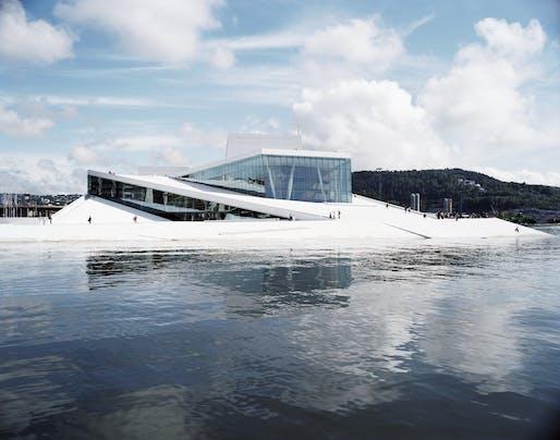 The Oslo Opera House by Snøhetta. All images courtesy Landezine International Landscape Award