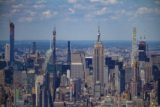 View of Midtown Manhattan in 2019. Image via Wikimedia Commons.