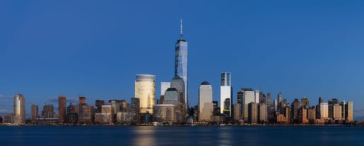 Lower Manhattan, from Jersey City (2014). (Wikipedia)
