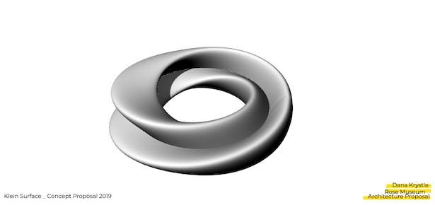 Rose Museum _ Proposal Klein Surface