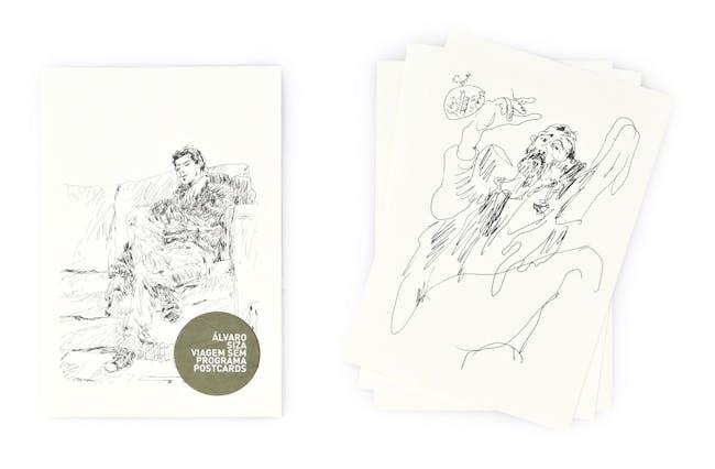 """ÁLVARO SIZA. VIAGEM SEM PROGRAMA"" by Greta Ruffino and Raul Betti. Drawing by Álvaro Siza"