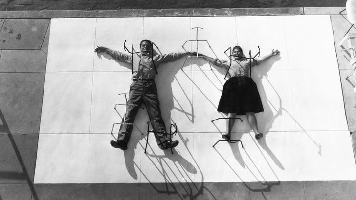 Pre-Starchitecture: Charles and Ray Eames, photo courtesy pbs.org