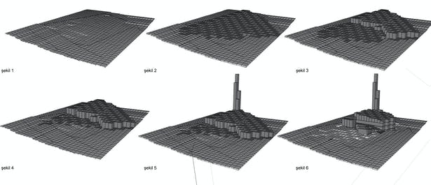 3D working diagrams. Image © rggA