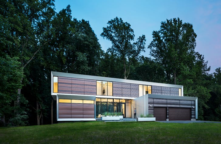 H + Y's 'Bridgehouse'. Courtesy of Höweler + Yoon Architecture.