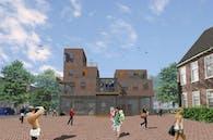 The Castle: live-work units The Hague