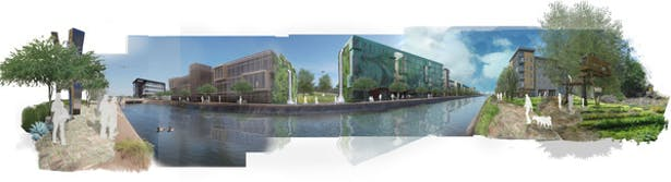 Canal based Development.