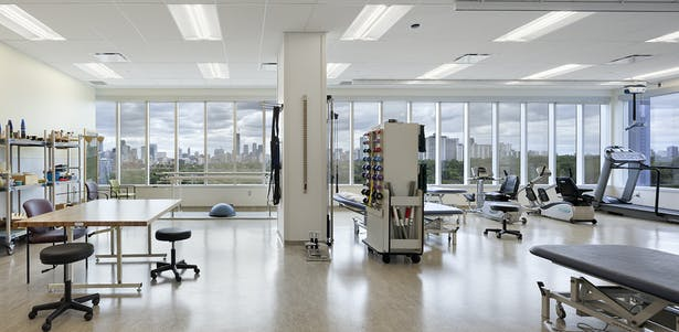 Bridgepoint Health therapy room