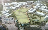 Construction teams for Microsoft's new corporate campus outside Seattle use drones to update 100 BIM models in real-time