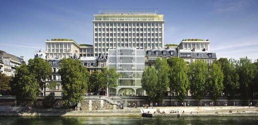 Rendering of Morland Mixité Capitale. Image: Bouygues Construction.