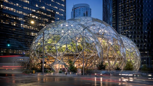 Amazon Spheres, by NBBJ.