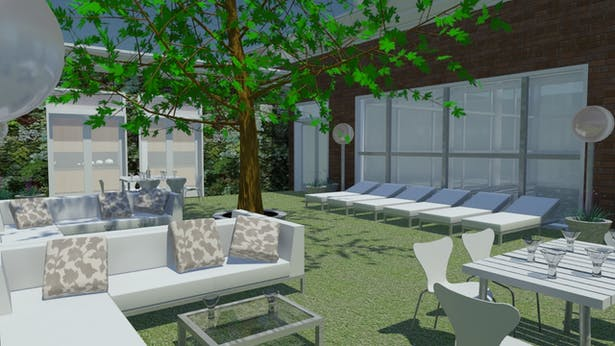 Woodlands at the Witherill Eco--village (Outdoor Dining Area)