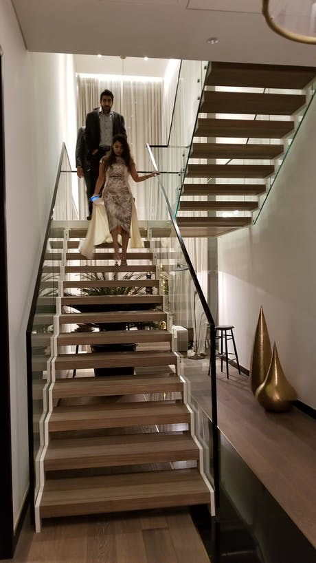 Villa V2 Stairs, Wagholi Township