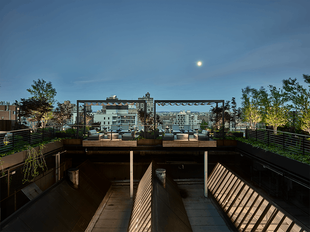 Murdock Solon Architects completed a new private rooftop garden in the Flatiron District of New York City.
