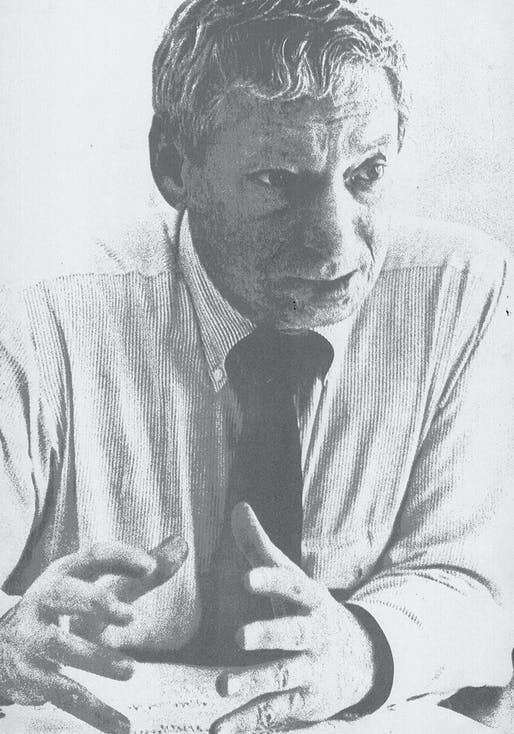 Portrait of Louis I. Kahn, from a photograph by George Pohl. All images courtesy of Designers & Books.