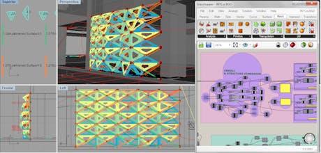 Digital Fabrication / Reactive Structures / Grasshopper Scripting