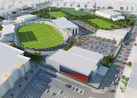 Al Shabab Stadium extension