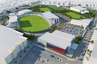 Al Shabab Stadium extension