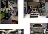 Calvin Klein shops in shops