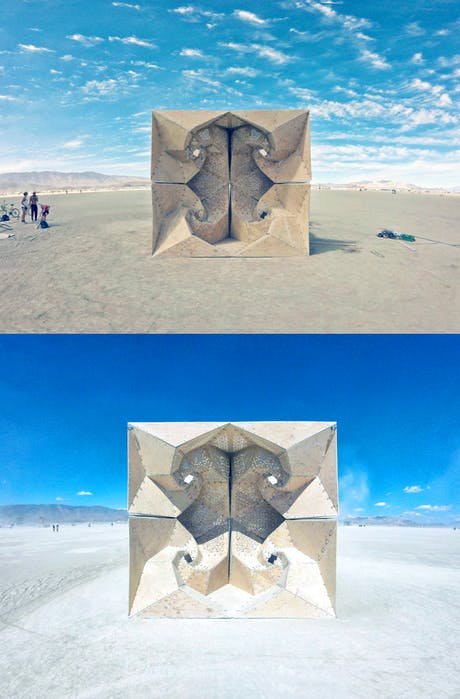 Burning Man Arts Foundation // Reflection _ Architectural Installation