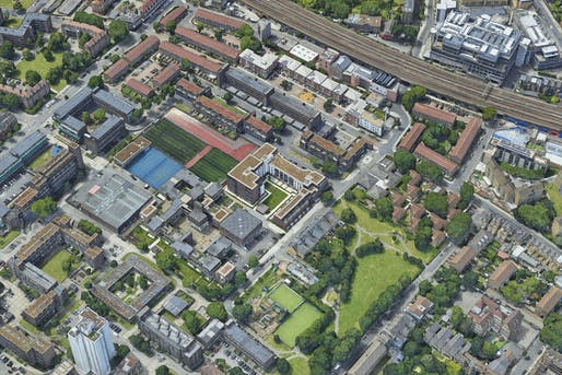 The case of segregated play areas in a housing estate in the London neighborhood of Kennington caused enough public outrage to trigger actual policy change from the Greater London Authority. Image: Google Maps.