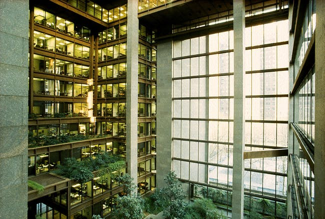 Ford Foundation. Tata Cummins Private Limited. Courtesy of Kevin Roche John Dinkeloo and Associates LLC
