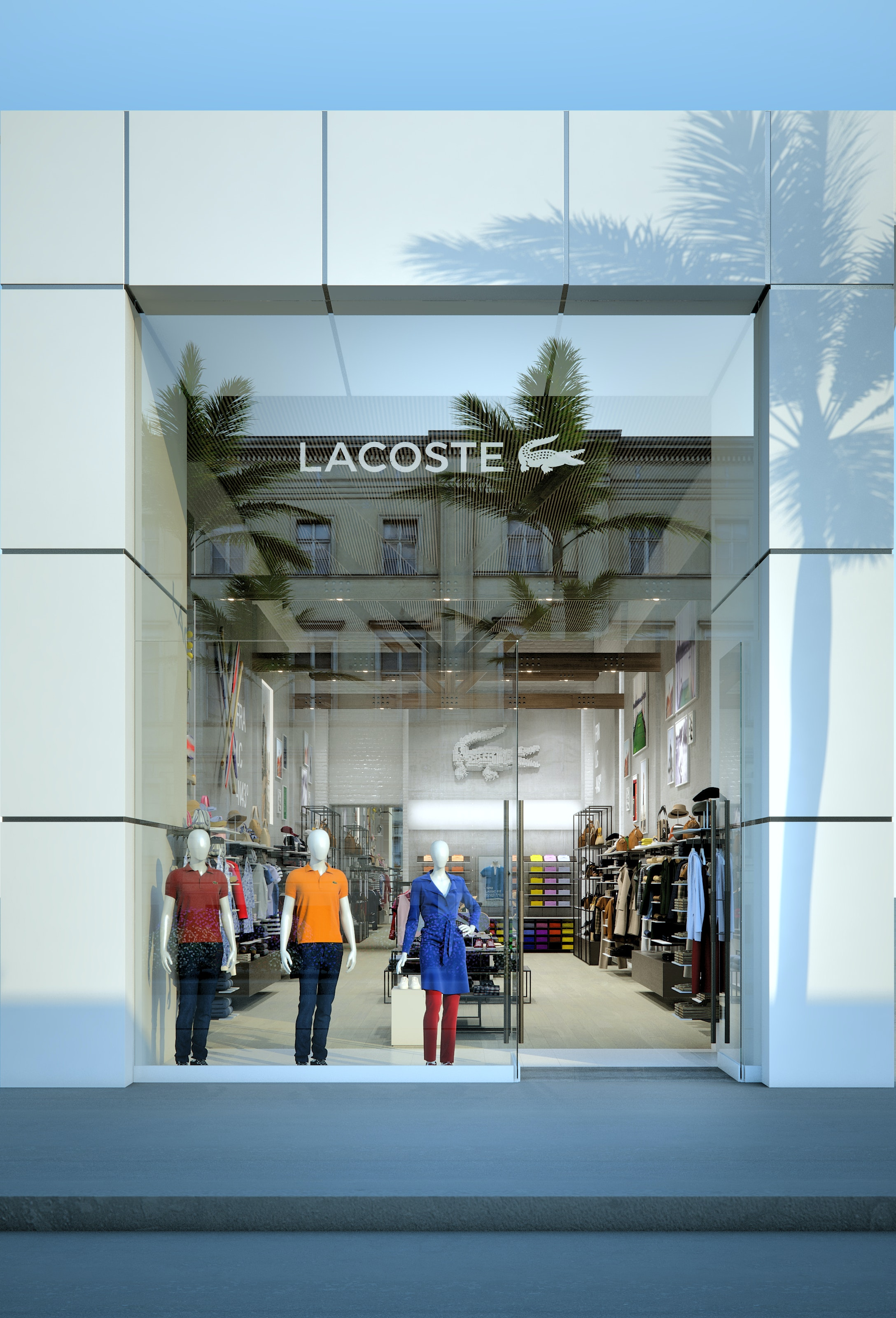 lacoste store rodeo drive  los angeles
