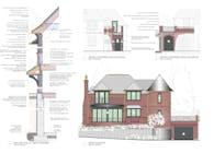 Guest Cottage Addition to Historic Riverfront Manor (MICHAEL LEWIS ARCHITECTS PC PORTFOLIO)