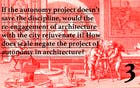 Architectural Agency: Playing at a New Scale; Thoughts with Taraneh Meshkani