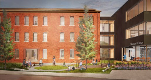 Renderings of Shaker Museum, Designed by Selldorf Architects