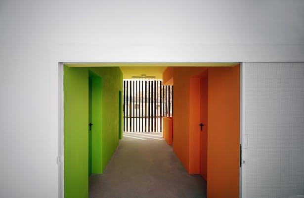 Main access