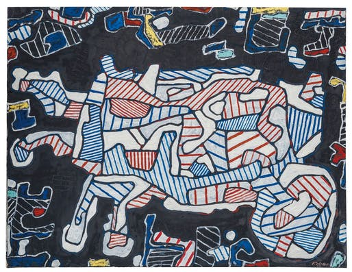 Dubuffet's The Wheelbarrow Courtesy of Christie's