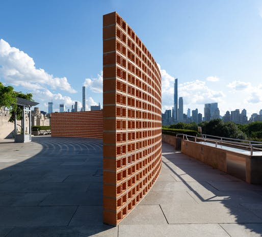 A view of Héctor Zamora's Lattice Detour installation. All photos courtesy of Héctor Zamora / Metropolitan Museum of Art.